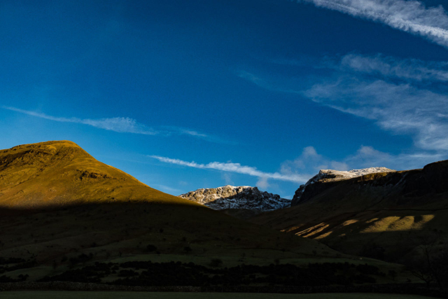Scafell Pike, Lake District, sunset